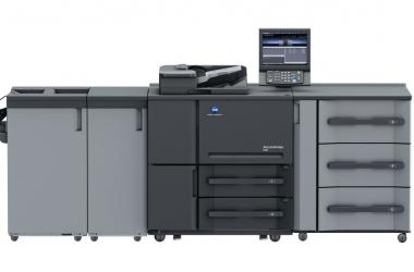 Monochromatyczny system do druku cyfrowego Accurio Press 6136/6136P/6120 od Konica Minolta