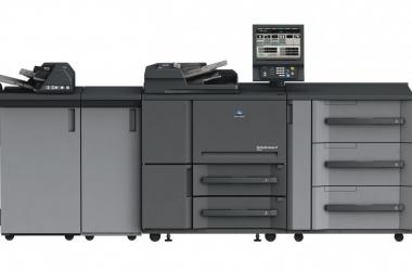 Monochromatyczny system do druku cyfrowego bizhub PRO 1052 od Konica Minolta